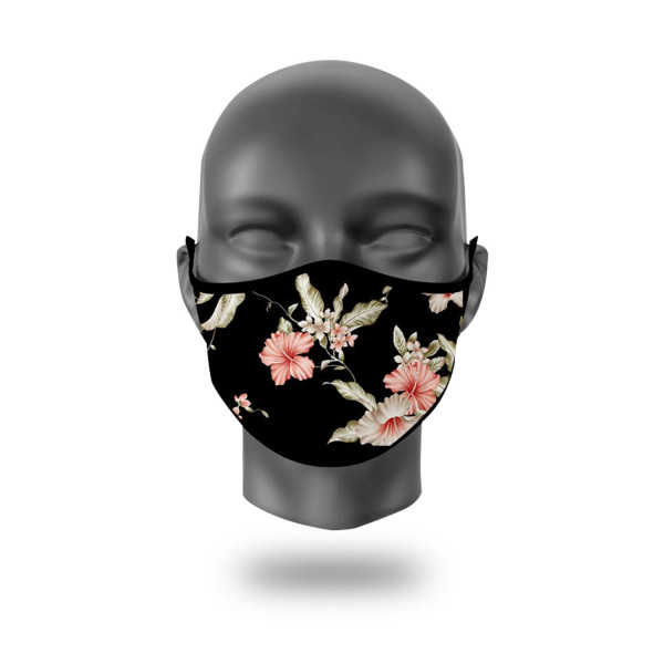 FASHION MASKEN FLOWER LADY