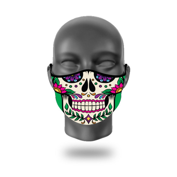 FASHION MASKEN MEXICAN SKULL