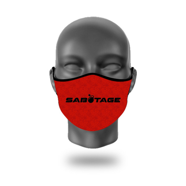 FASHION MASKEN SABOTAGE RED